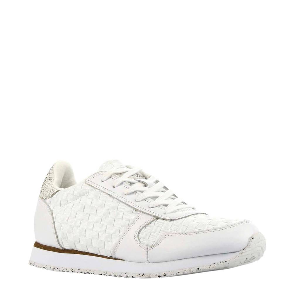 Woden Ydun NSC  leren sneakers wit, Wit