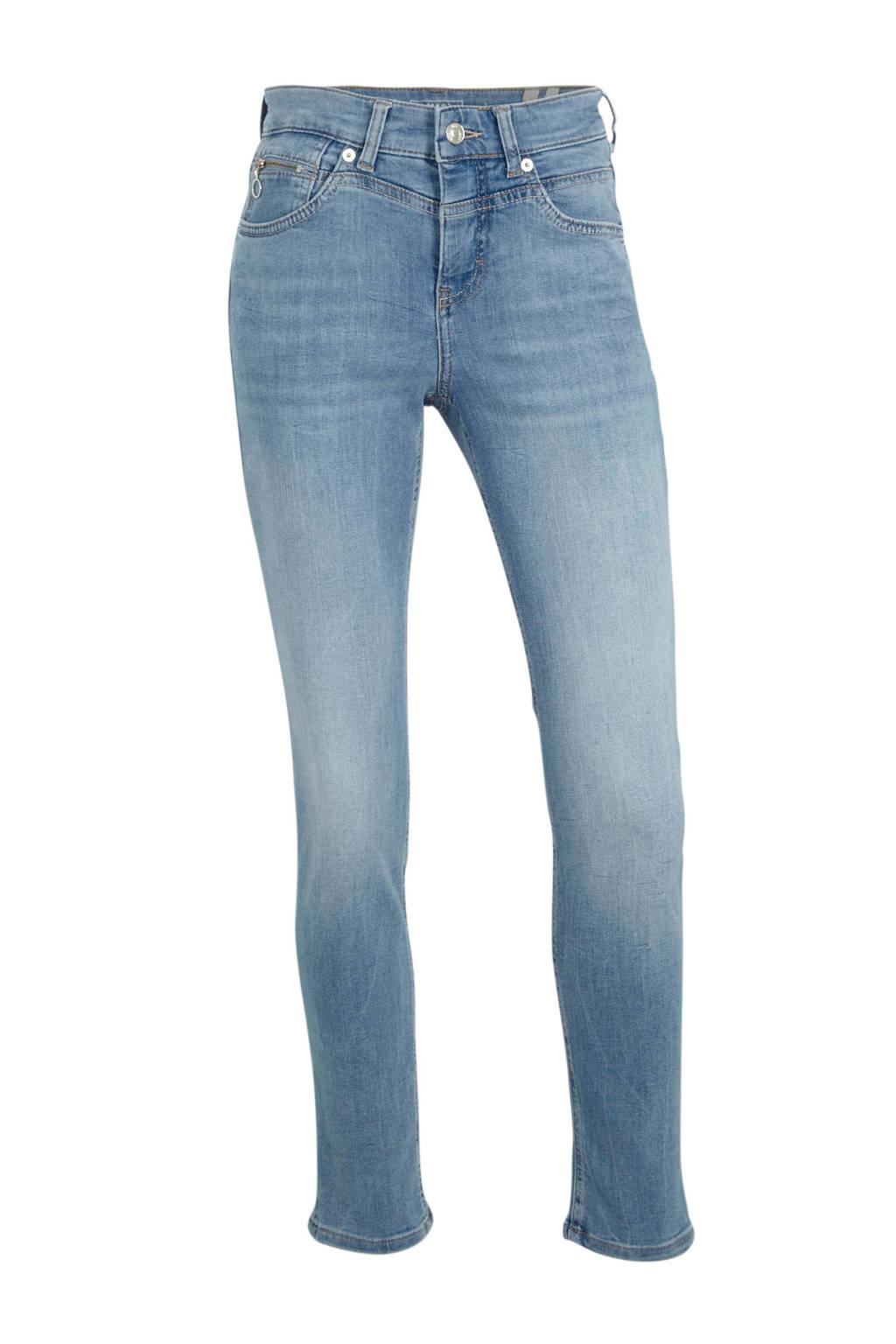 MAC slim fit jeans blauw, Blauw