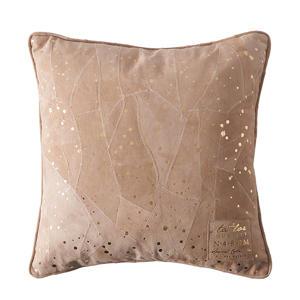 Sparkle Spot Leather goud kussenhoes 40x40 cm