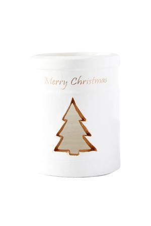 A Merry Christmas Tree Hurricane kerstkaarshouder
