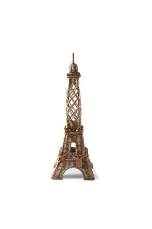 Rustic Rattan La Tour Eiffel beeldje