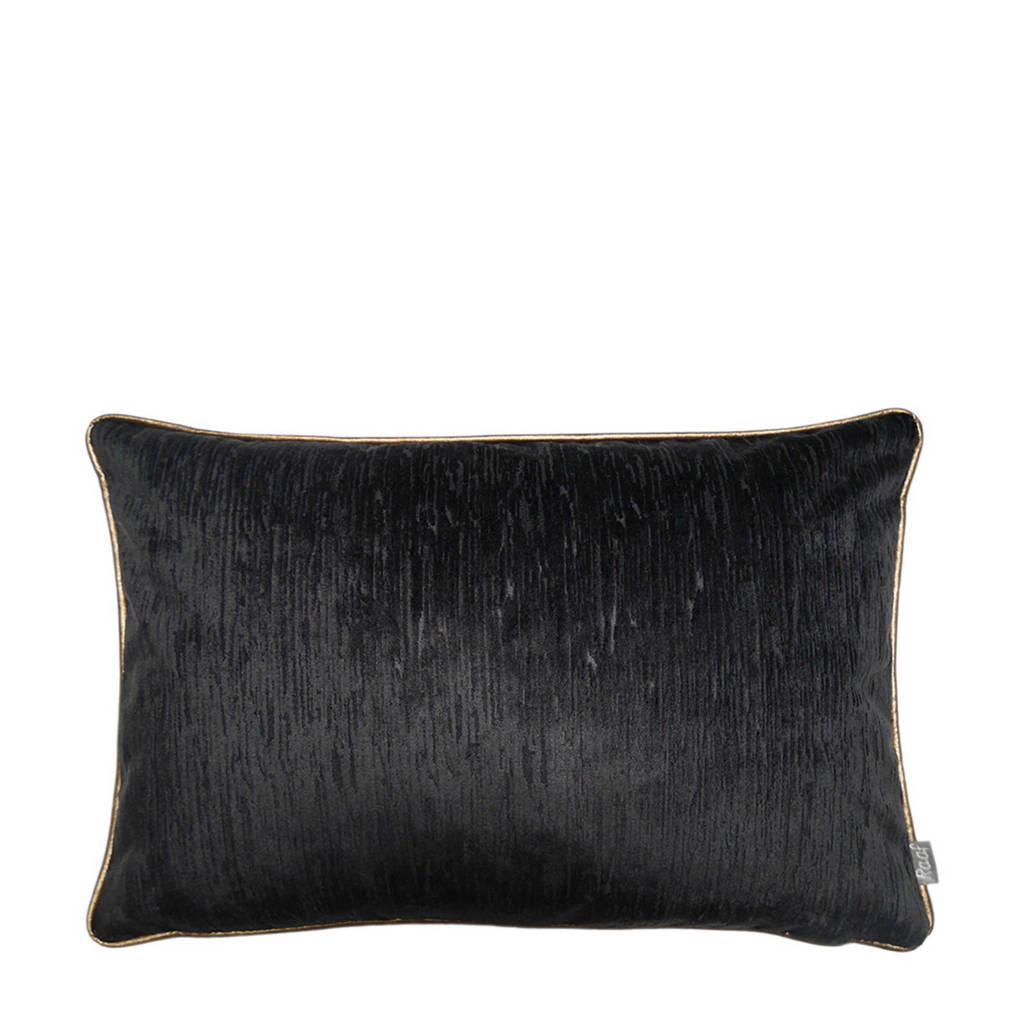 Raaf kussenhoes Rafaël zwart 40x60 cm, Zwart, Goud
