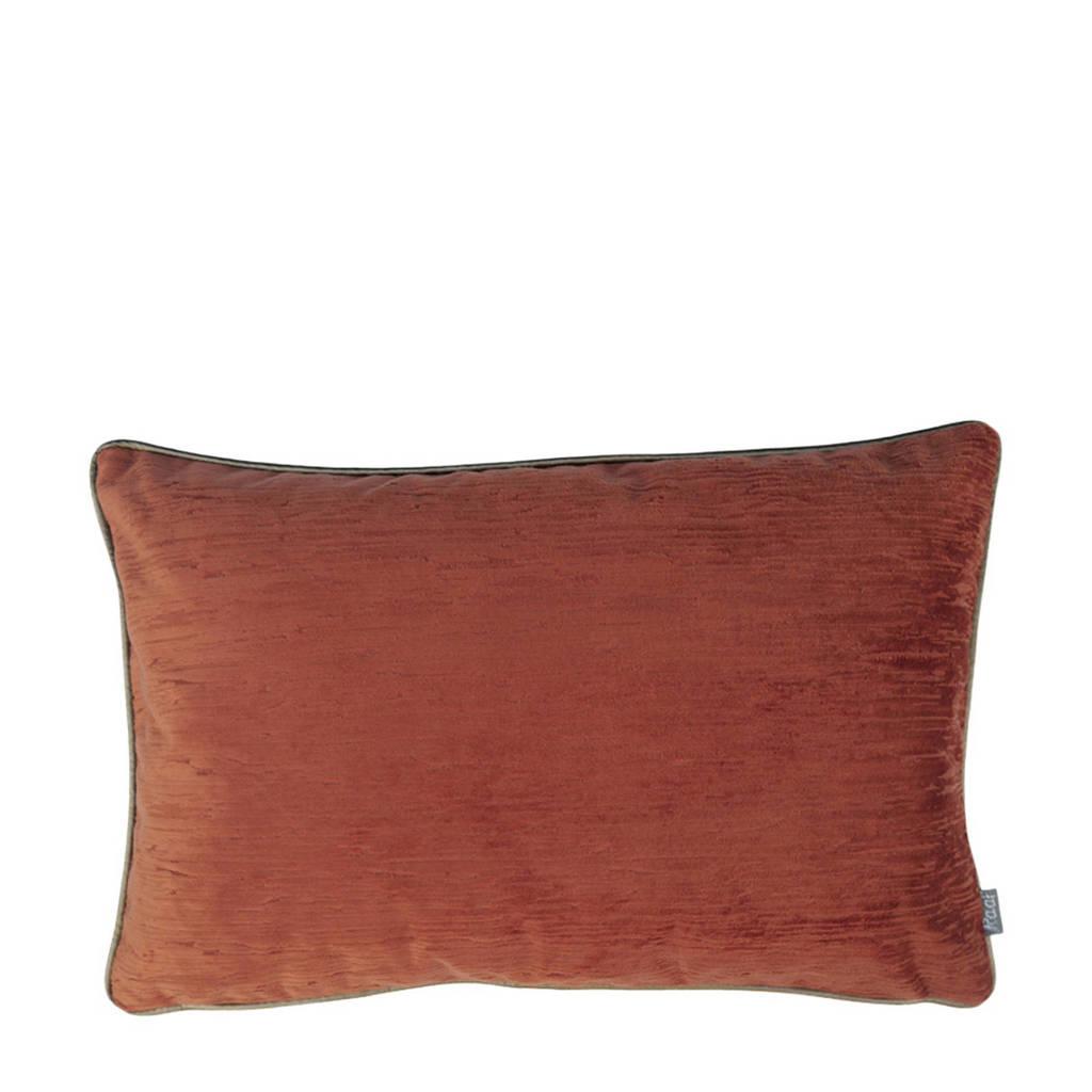 Raaf kussenhoes Rafaël terra 40x60 cm, Oranje, Terra, Goud