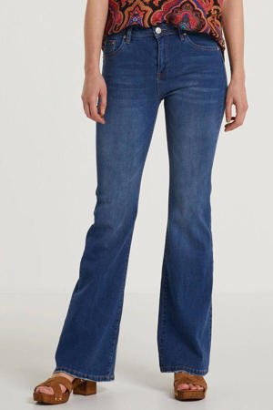 flared jeans Cava donkerblauw