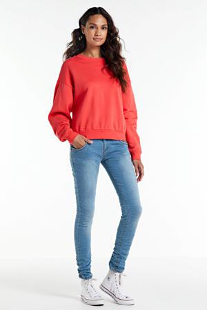 skinny jeans Alma mid blue denim