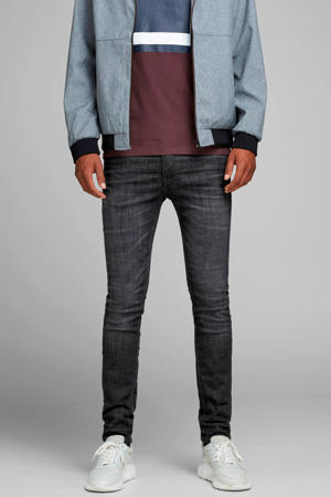 skinny fit jeans Liam black denim