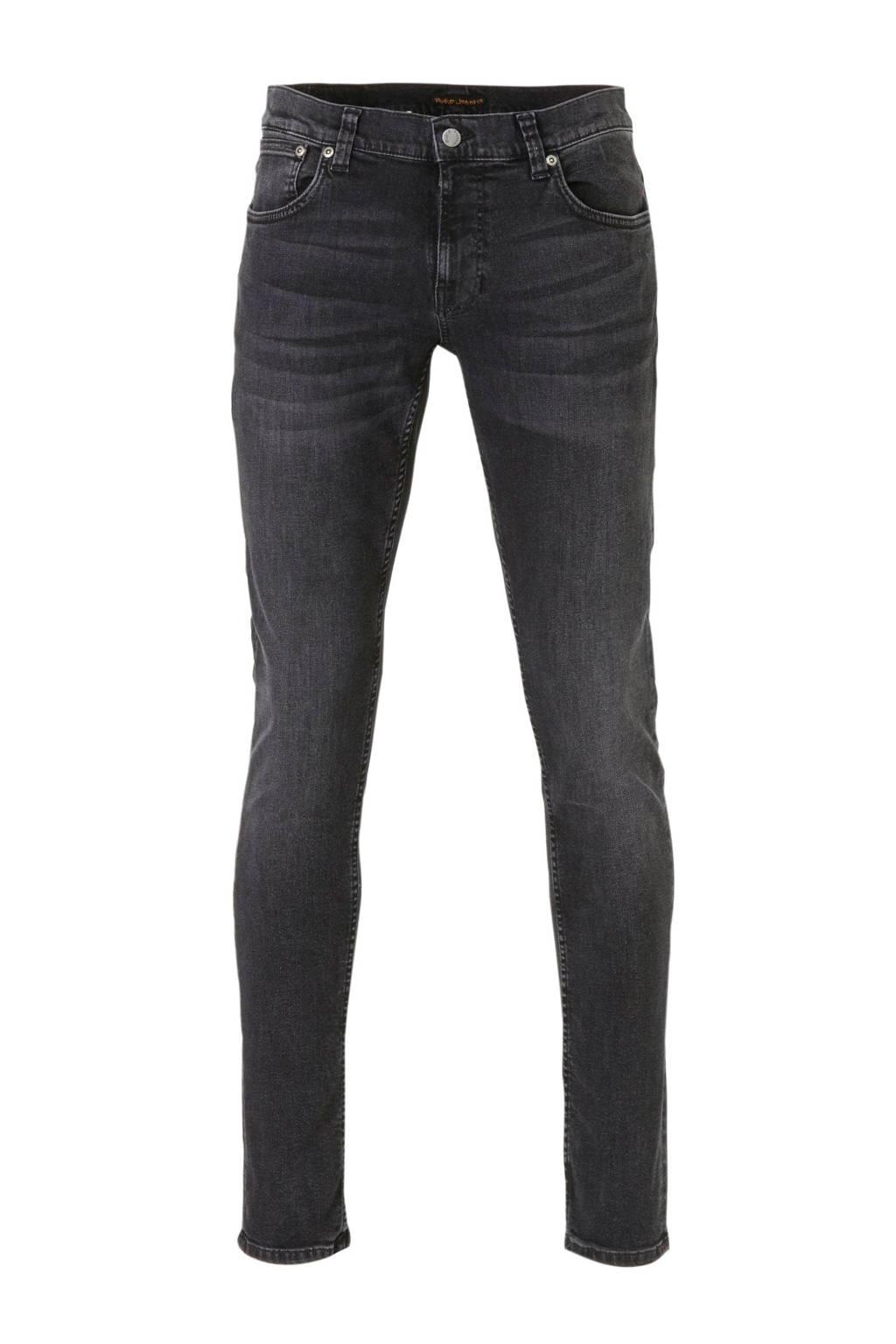 Nudie Jeans slim fit jeans Tight Terry black treats, Black Treats