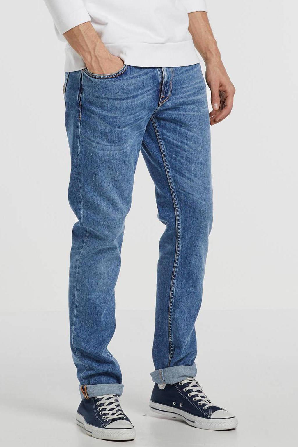Nudie Jeans slim fit jeans Lean Dean lost orange, Lost Orange