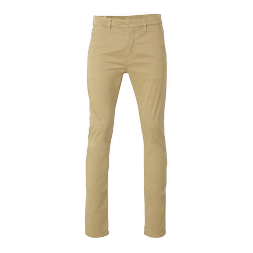 Nudie Jeans slim fit chino Adam met biologisch kat
