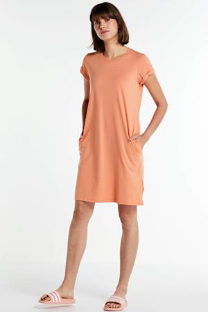 jersey jurk Bell zalm
