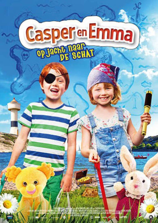 Casper en Emma - Op jacht naar de schat (DVD)
