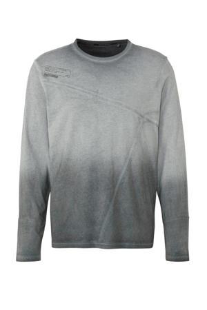 Angelo Litrico T-shirt van biologisch katoen grijs