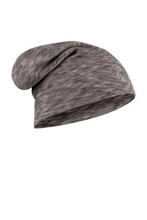 Merino Wool muts grijs
