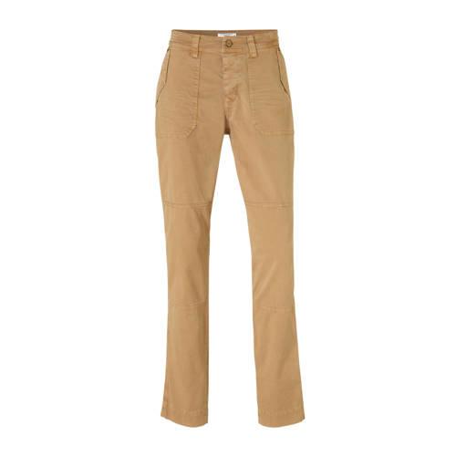 Summum Woman straight fit broek beige