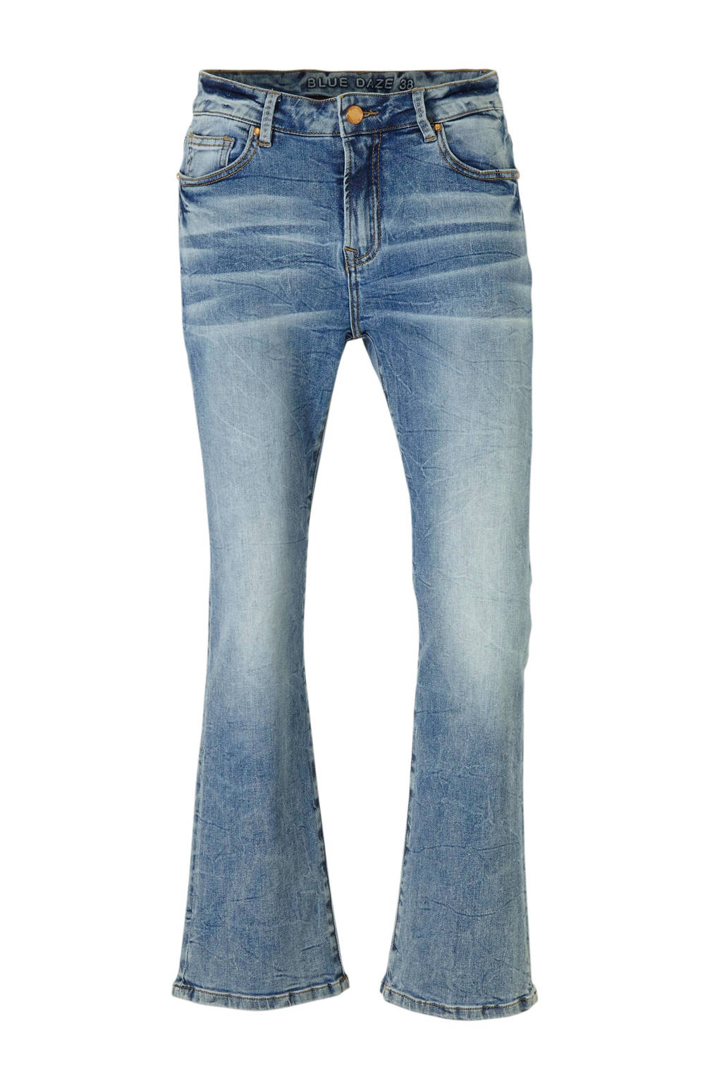Summum Woman flared jeans blauw, Blauw
