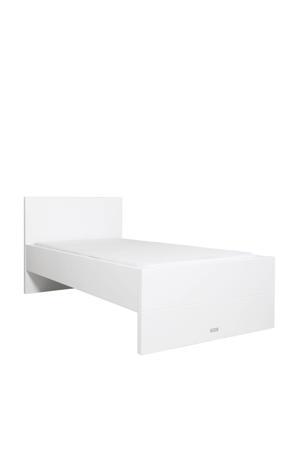 bed 90X200 Camille wit met hoofdeinde  (90x200 cm)