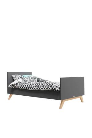 bed 90X200 Kyan Deep grijs/naturel  (90x200 cm)