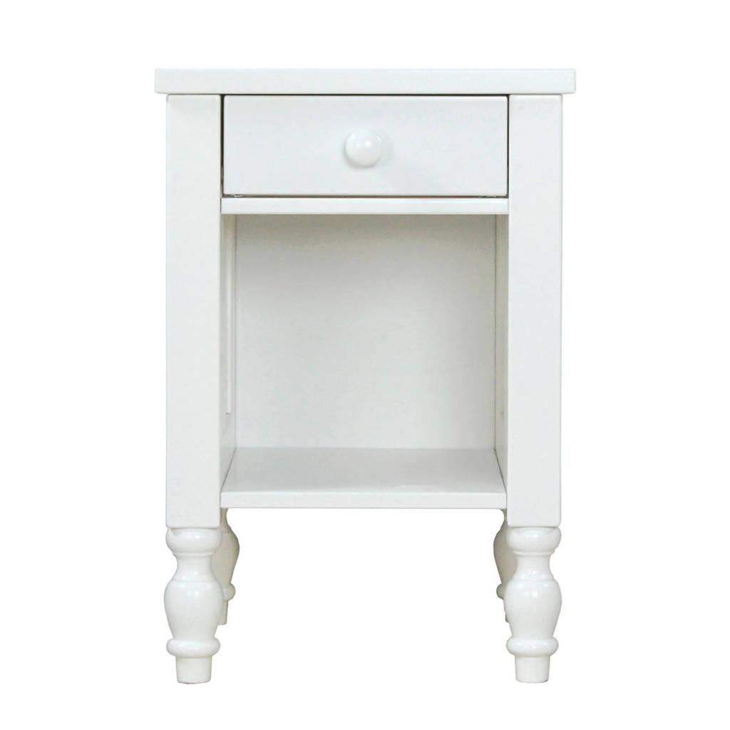 Bopita nachtkastje Belle wit, Wit