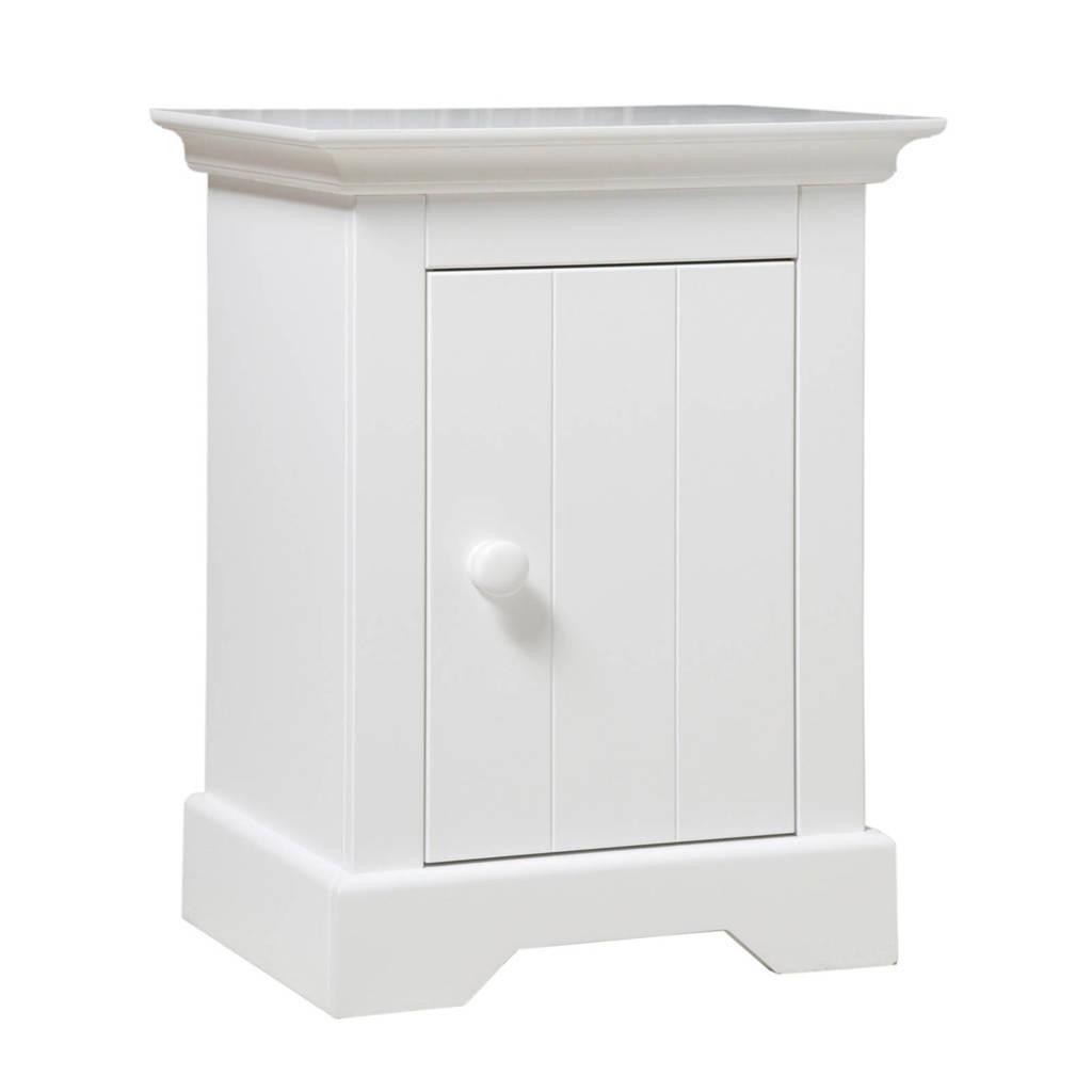 Bopita nachtkastje Narbonne wit, Wit