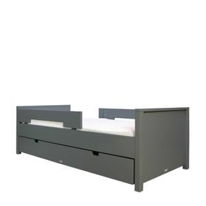 bed 90X200 Jonne Deep grijs (inclusief 2 uitvalrekken)  (90x200 cm)