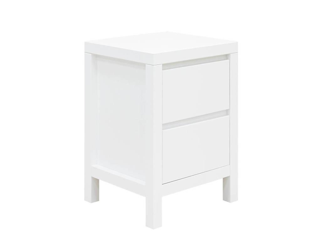 Bopita nachtkastje Corsica wit, Wit