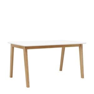 speeltafel rechthoekig Ivar wit/naturel