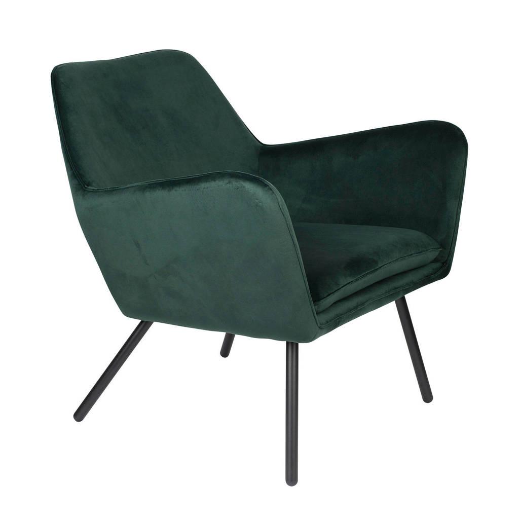anytime fauteuil Bon velvet, Groen