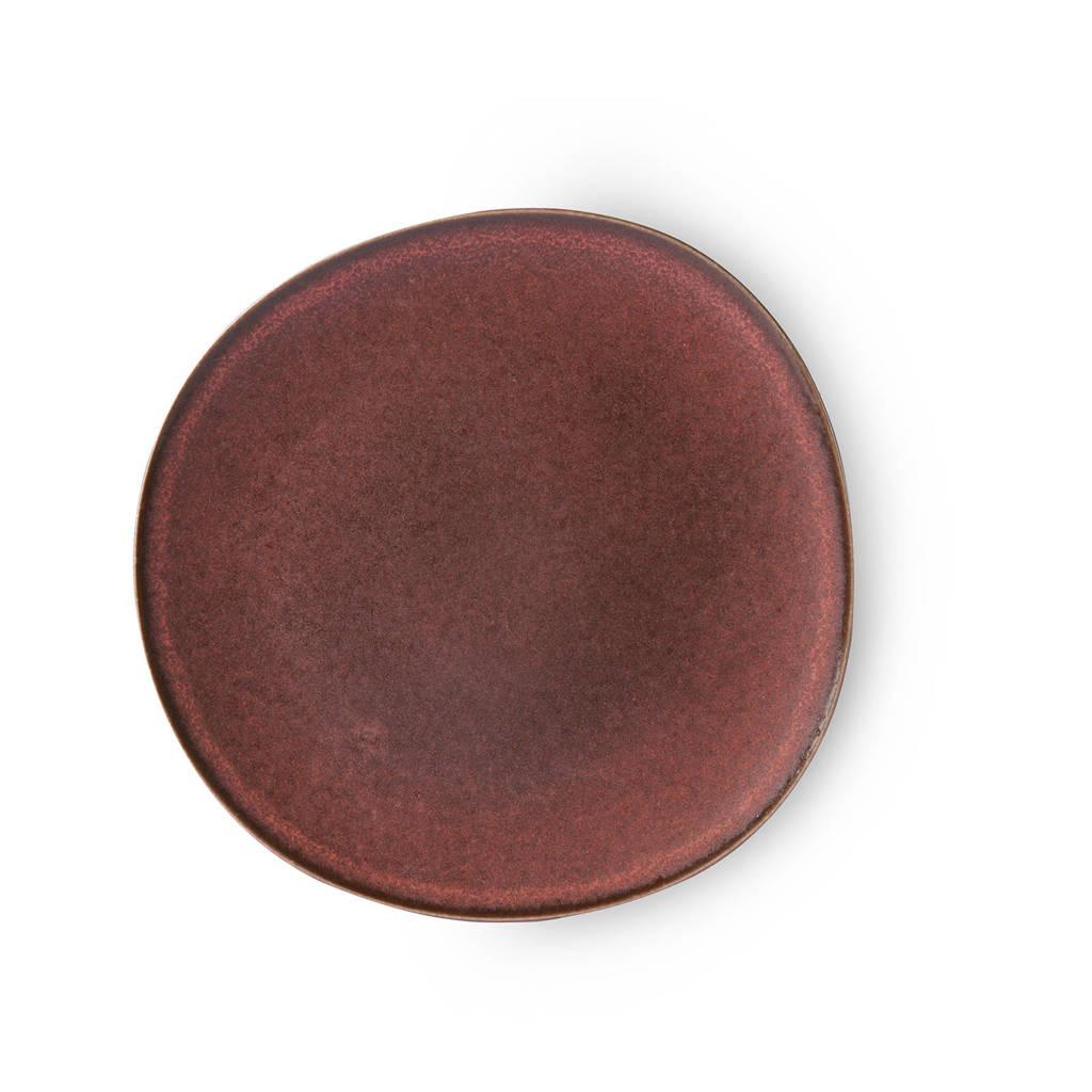 HKliving Ceramic dinerbord (Ø28,5 cm), Terra