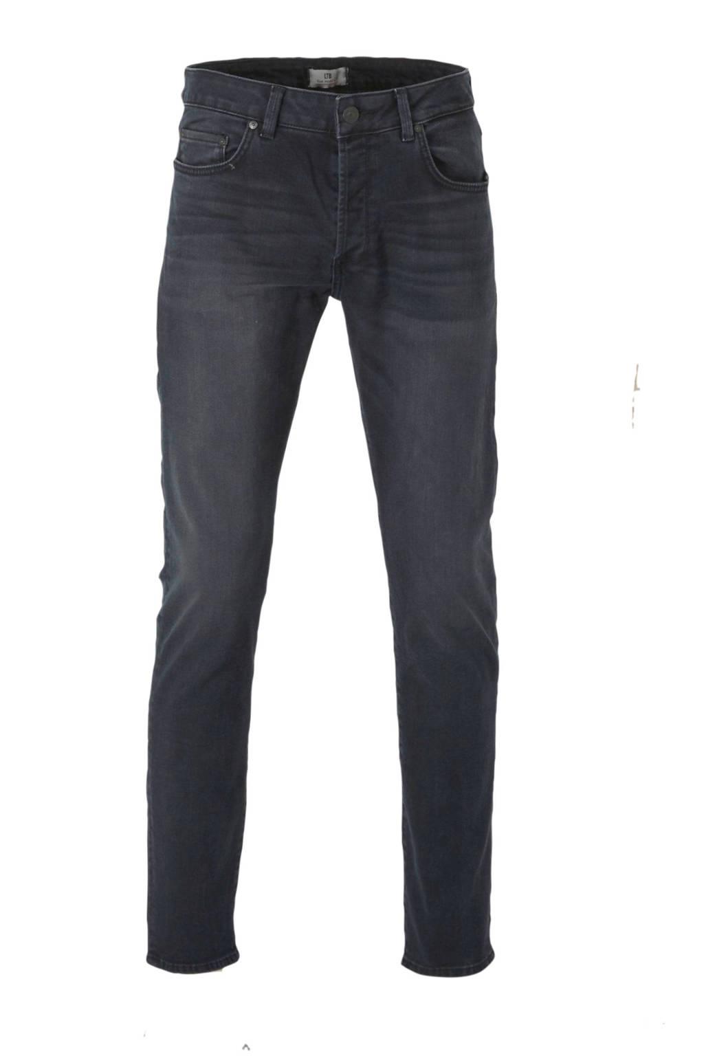 LTB slim fit jeans retas, Donkergrijs