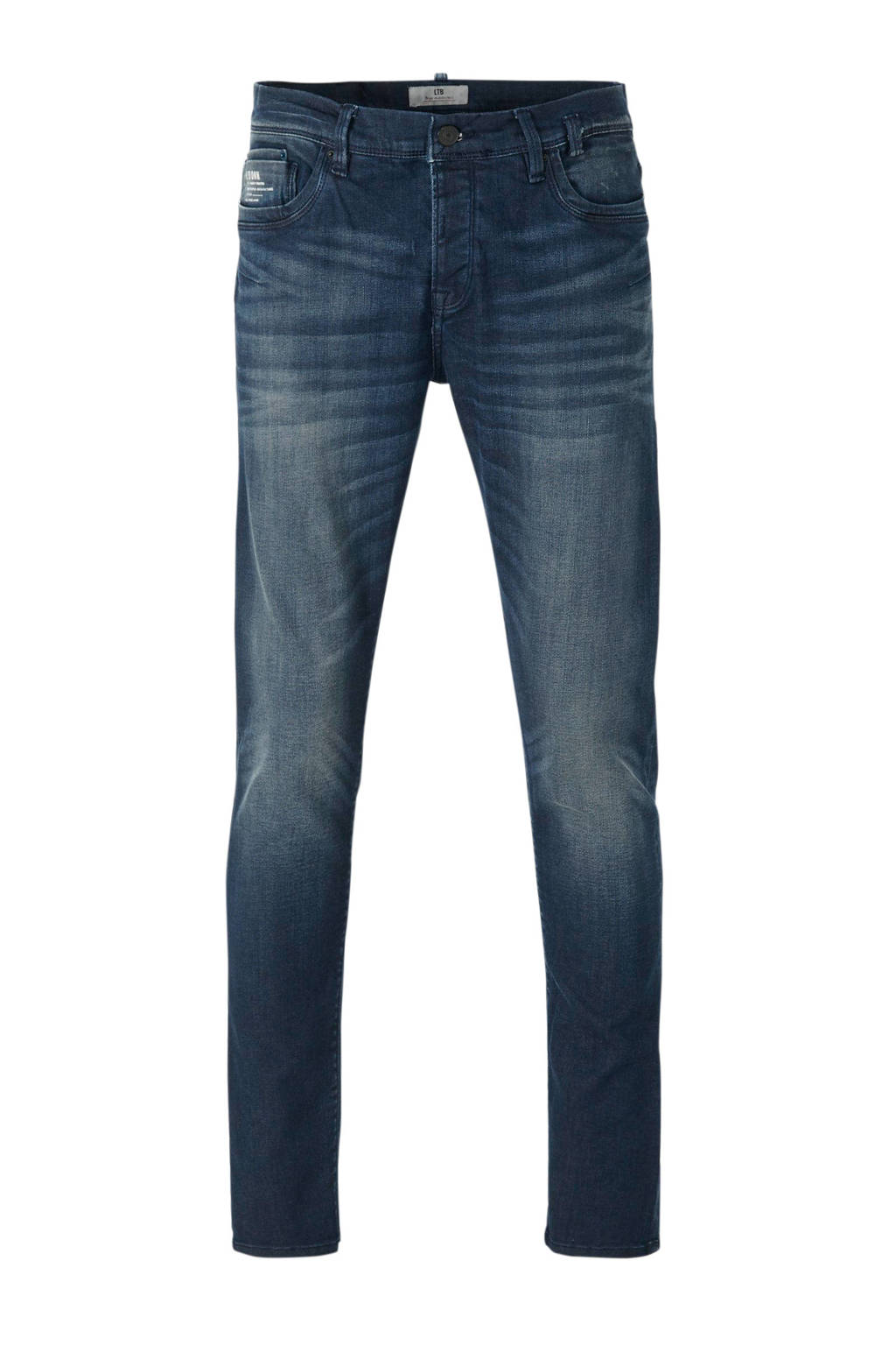 LTB tapered fit jeans blauw, Blauw