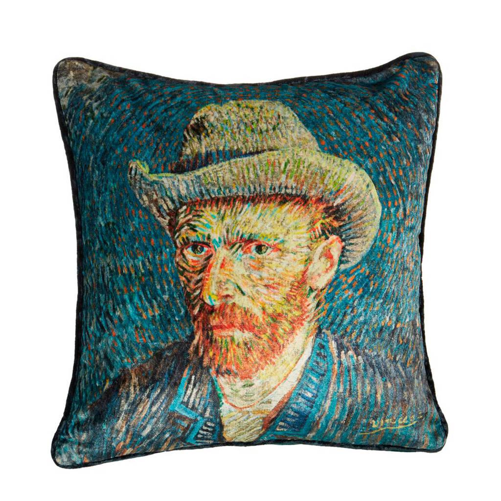 Van Gogh Museum sierkussen Van (45x45 cm), Blauw