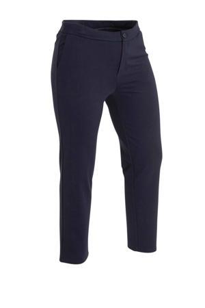 slim fit broek Angie donkerblauw
