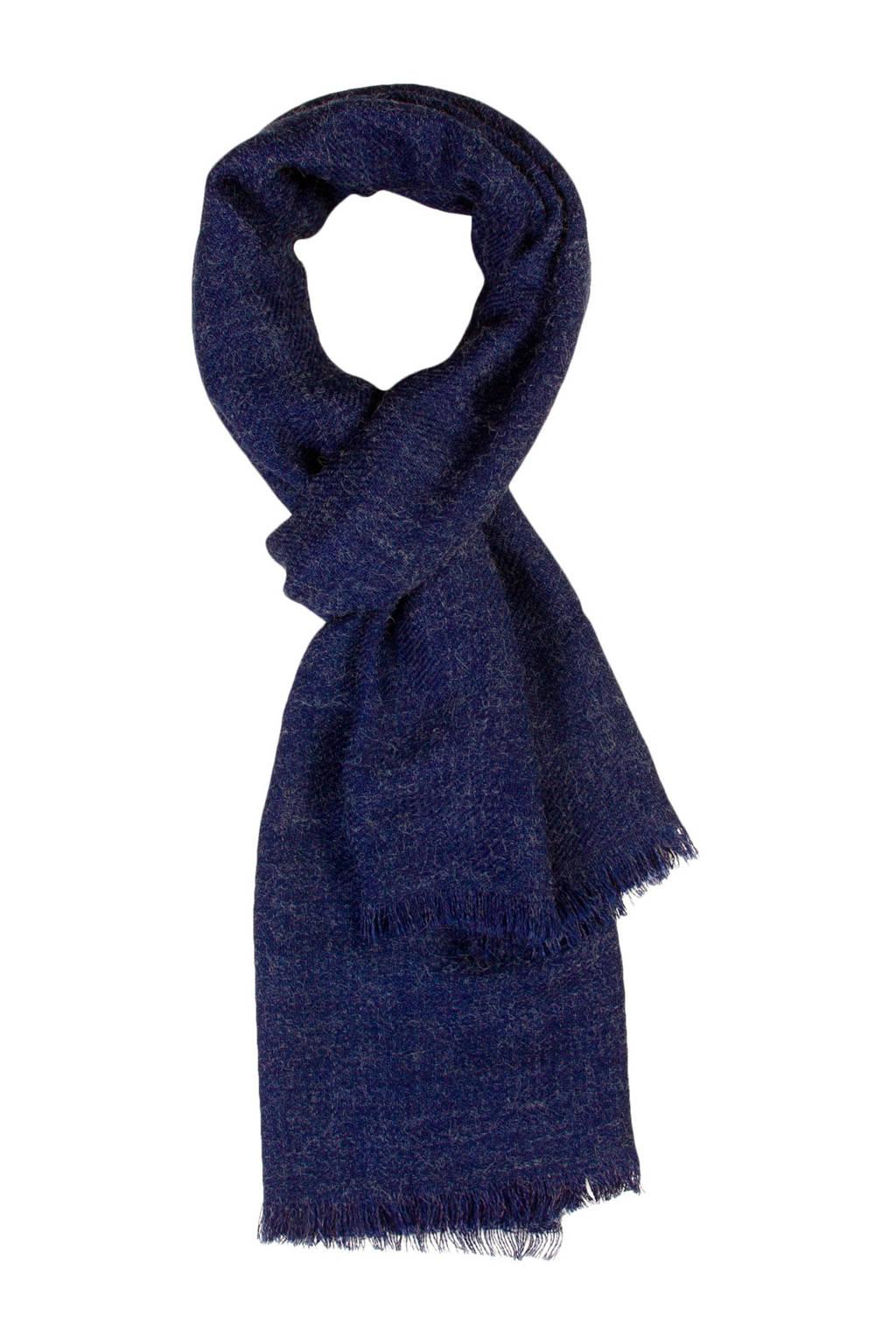 Miss Etam Accessoires sjaal blauw, Blauw
