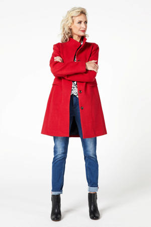 coat Carera rood