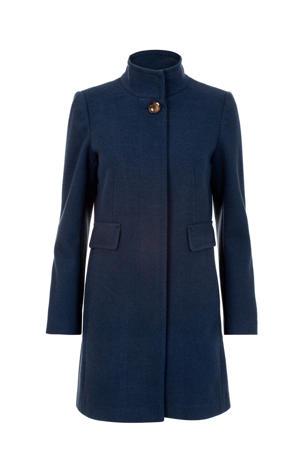 coat Carera donkerblauw