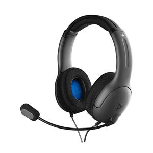 LVL40 Stereo gaming headset PS4 grijs