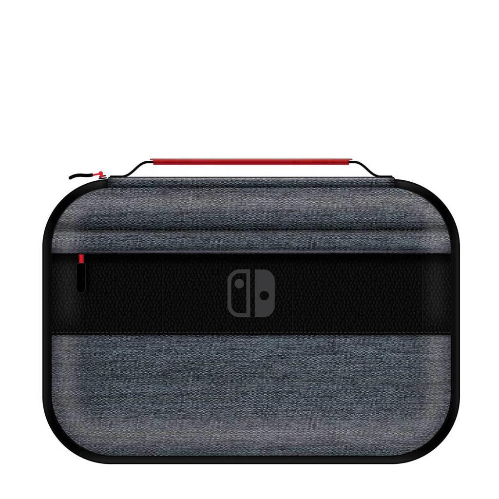 PDP Nintendo Switch consolehoes Elite edition, Zwart, Grijs, Rood