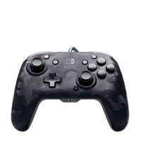 PDP Faceoff deluxe+ Audio wired controller, Zwart