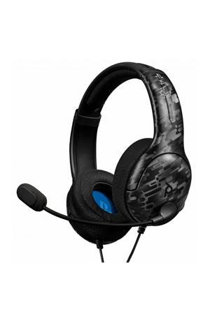 LVL40 draadloze gaming headset (PS4) zwart camo