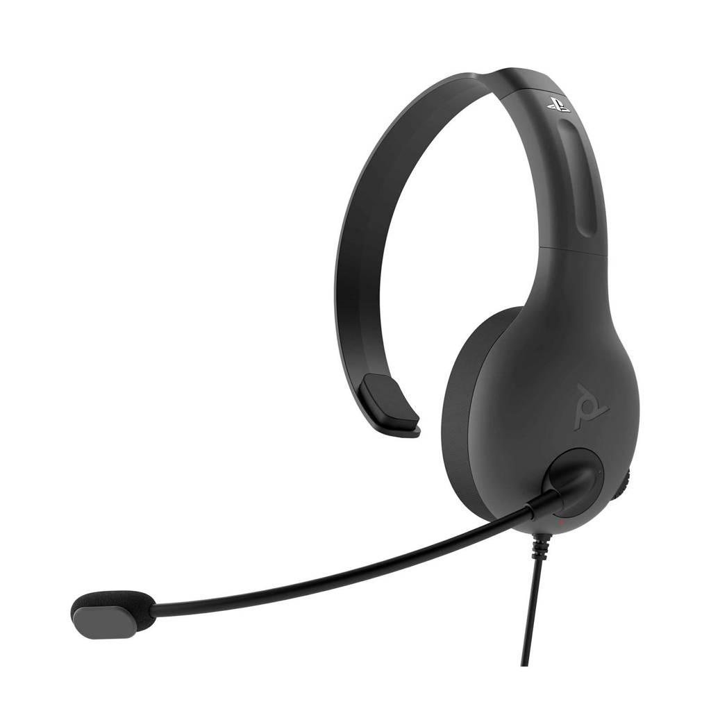 PDP  Gaming LVL30 Chat gaming headset (PS4), Grijs