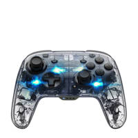 PDP Afterglow Nintendo Switch draadloze deluxe controller zilver, Transparant