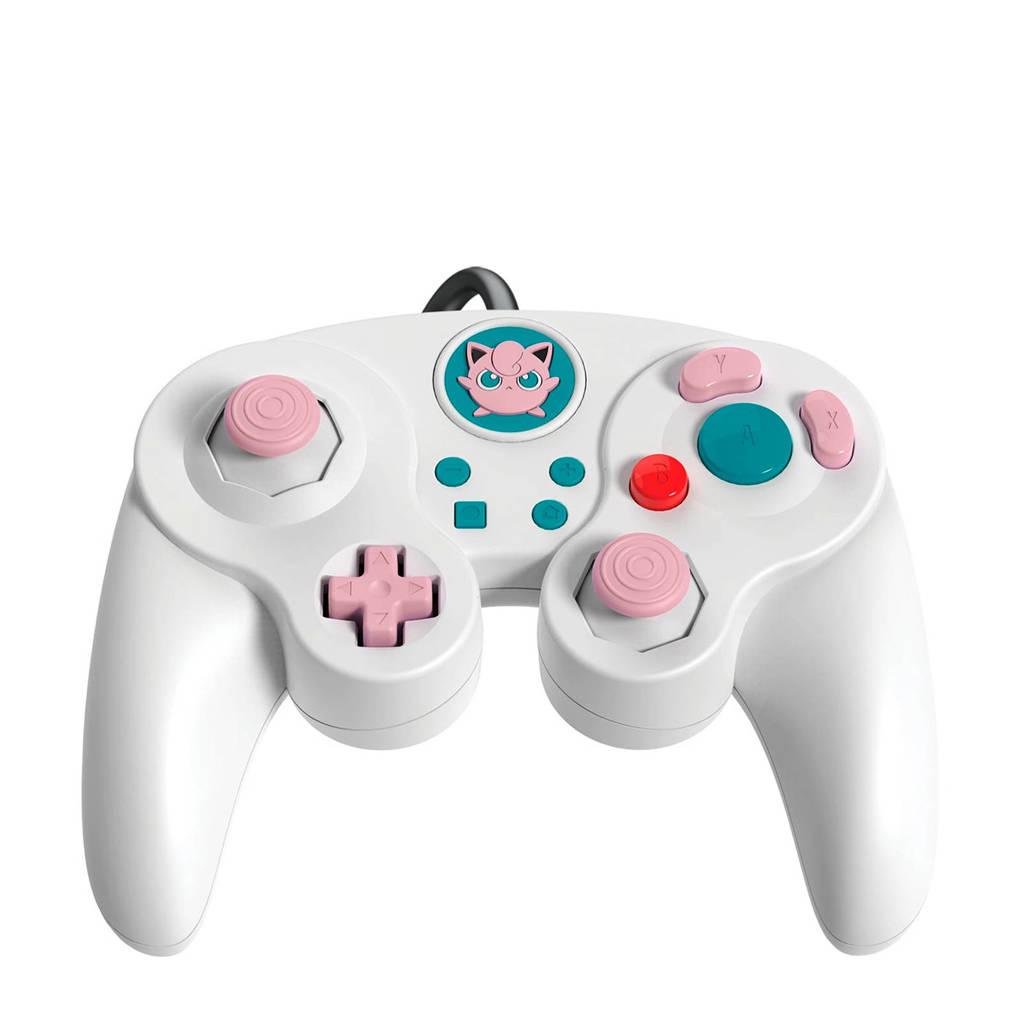 PDP Nintendo Switch controller Smash Pad Pro Jigglypuff, Wit