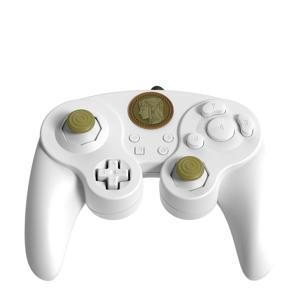 intendo Switch controller Smash Pad Pro Zelda Wit