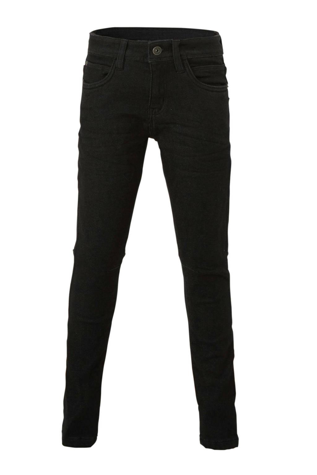 C&A Here & There skinny broek zwart, Zwart
