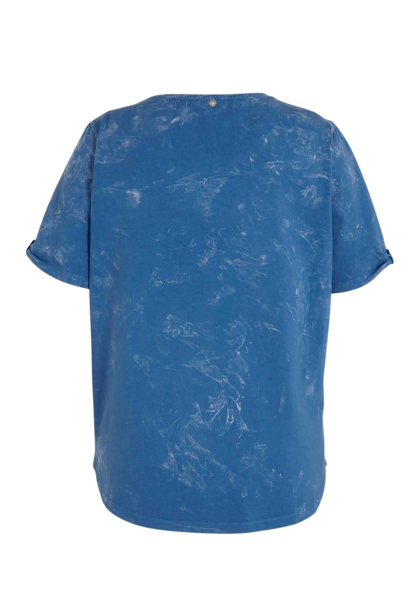 No Secret T-shirt met printopdruk blauw