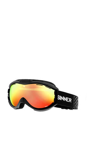 skibril Toxic zwart