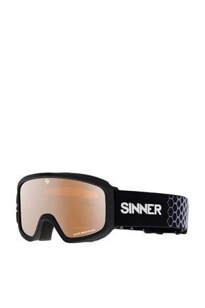 Meisjes skibril Duck Mountain zwart