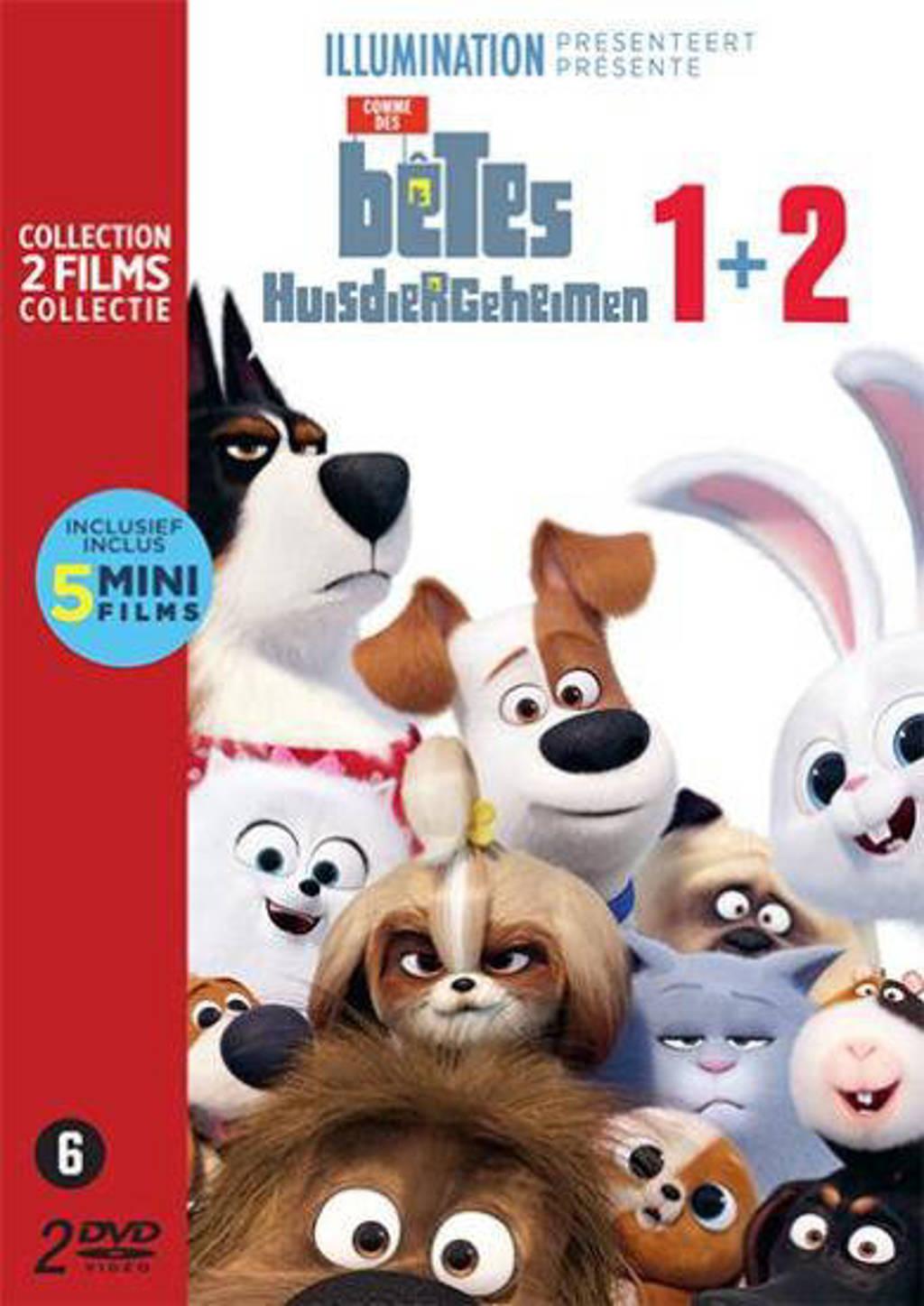 Huisdiergeheimen 1&2 (DVD)