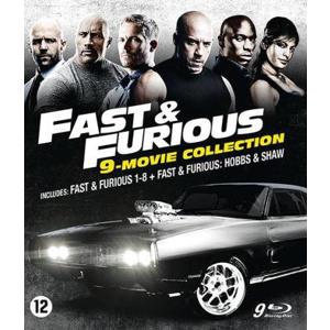 Fast & furious 1-8 - Hobbs & Shaw (Blu-ray)