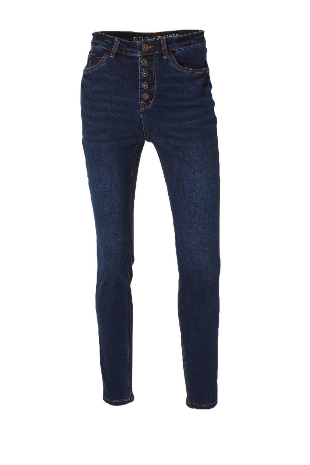 C&A Yessica high waist skinny jeans dark denim, Dark denim